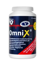 OmniX u. jern og k-vitamin 175 tab