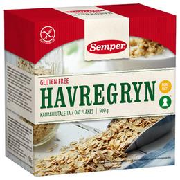 Havregryn glutenfri Semper grov 500 g