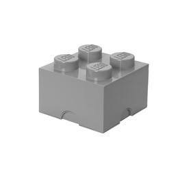 LEGO Storage Brick 4 - Stone Grey