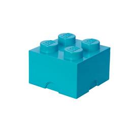 LEGO Storage Brick 4 - Medium Azur