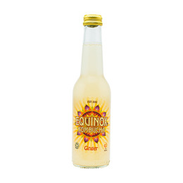 Kombucha te Raw Ginger Equinox Øko 275 ml