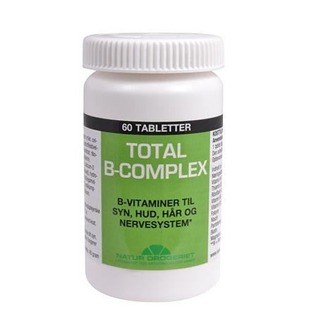 Natur Drogeriet B Complex Total 60 stk