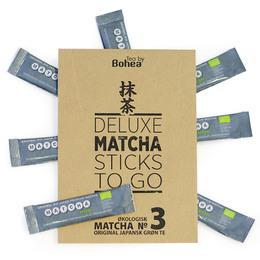 Deluxe MATCHA NO. 3 sticks To Go Øko