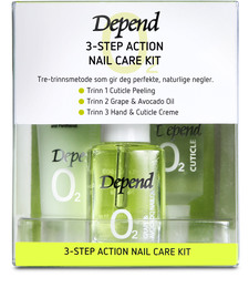 Depend O2 3-step Action Set