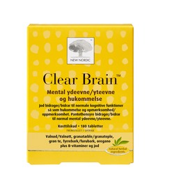 New Nordic Clear Brain 180 tabl.