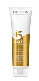 Revlon 45 days Golden Blondes 2in1 Shampoo 275 ml.
