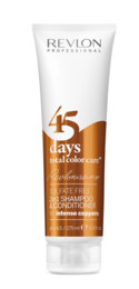 Revlon Pro 45 Days Intense Coppers 2in1 Shampoo 275 ml