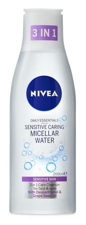 Nivea Essentials Micellar Water Sensitive 200 ml