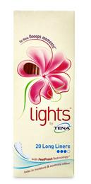 Tena Lights by Tena Liner Long 20 stk.