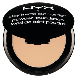NYX Stay matte but not flat powder foundation - nu