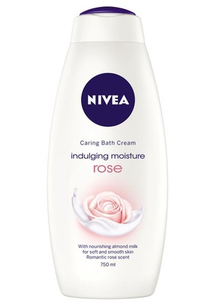Nivea Bath Indulging Moisture Rose 750 ml