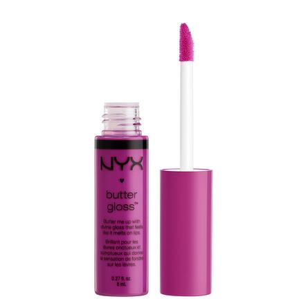 NYX PROFESSIONAL MAKEUP Butter lip gloss - raspber