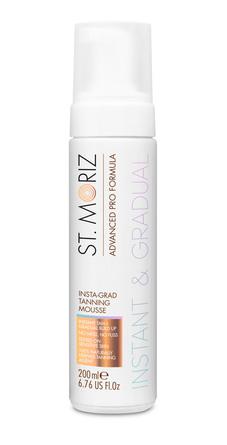 St. Moriz Advanced Pro Insta-Grad Tanning Mousse 200 ml