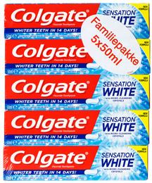 Colgate tandpasta Sensation Whitening 5-pak