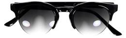 StyleBox Solbriller Wayfarer Black halvt indrammet