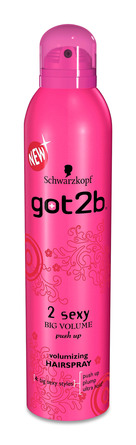 Schwarzkopf got2b 2 SEXY COLLAGEN big volume HAIRSPRAY 300 ml