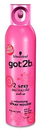 Schwarzkopf Got2b 2 Sexy Big Volumen Spray Mousse 250 ml