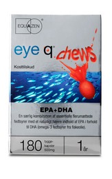 Eye Q Eye-Q Chews 180 kapsler