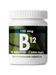 B12 125 mcg 90 tab