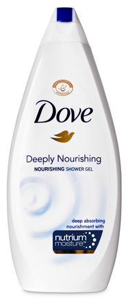 Dove Deeply Nourishing Shower 750 ml