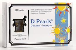 D-Pearls 20 mcg 120 kapsler