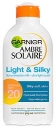 Ambre Solaire Light & Silky Milk SPF20 200 ml