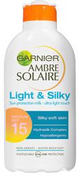 Ambre Solaire Light & Silky Milk SPF15 200 ml