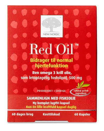 New Nordic Red Oil 60 kapsler
