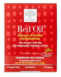 New Nordic Red Oil 60 kapsler