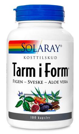 Solaray Tarm i Form 100 kaps.