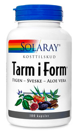 Solaray Tarm i Form 100 kaps.