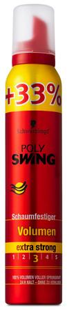 Schwarzkopf Poly Swing mousse +33%  200 ml