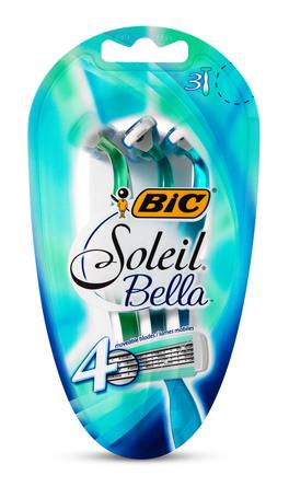 BiC Soleil Bella Barberskraber 3 Stk