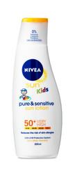 Nivea Sun Kids Pure & Sensitive Lotion Spf50 200ml