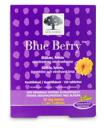New Nordic Blue Berry Original 120 tabl.