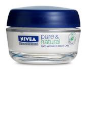 Nivea Pure & Natural Anti-Wrinkle Natcreme 50 ml