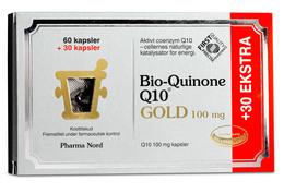 Bio Quinone Q10 Gold 100mg, 60+30 kapsler