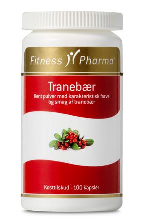Fitness Pharma Tranebærkapsler 100 stk.