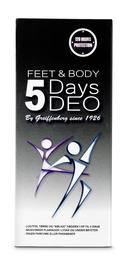 Safety5 5Days DEO Feet&Body 32 mll