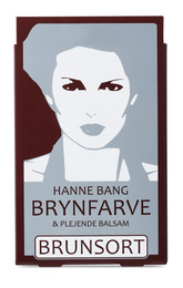 Hanne Bang Permanentfarve til øjenbryn.