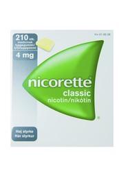 Nicorette® Classic tyggegummi 4 mg 210 stk
