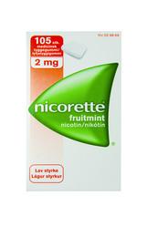 Nicorette® Fruitmint 2 mg 105 stk.