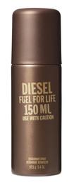Diesel Fuel for Life He Deodorant Spray 150 ml