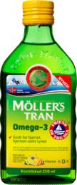 Møllers Tran m/frugtsmag 250 ml