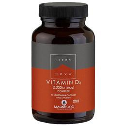 Vitamin D3 2000 IU 50 kap