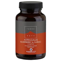 Astragalus elderberry & garlic complex 50 kap