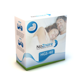 NoZnore™ HGS-40 anti snorkeskinne