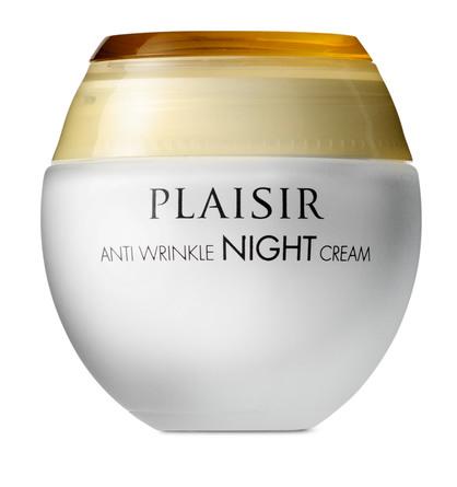 Plaisir Anti Wrinkle Night Cream 50 ml