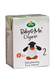 Arla Baby&Me 6x200 ml - 2 tilskudsblanding