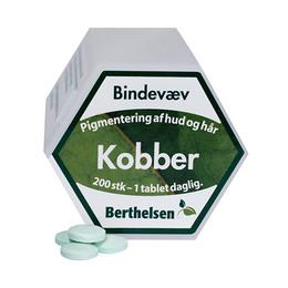 Kobber 2 mg Berthelsen 200 tab